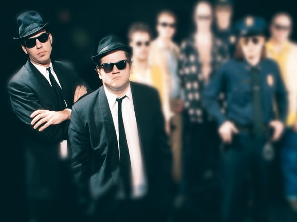 Bollox Bloose Brothers  (Blues Brothers tribute)
