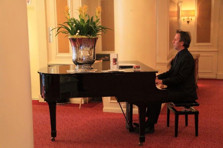 uitvaart pianist Dick Schuur