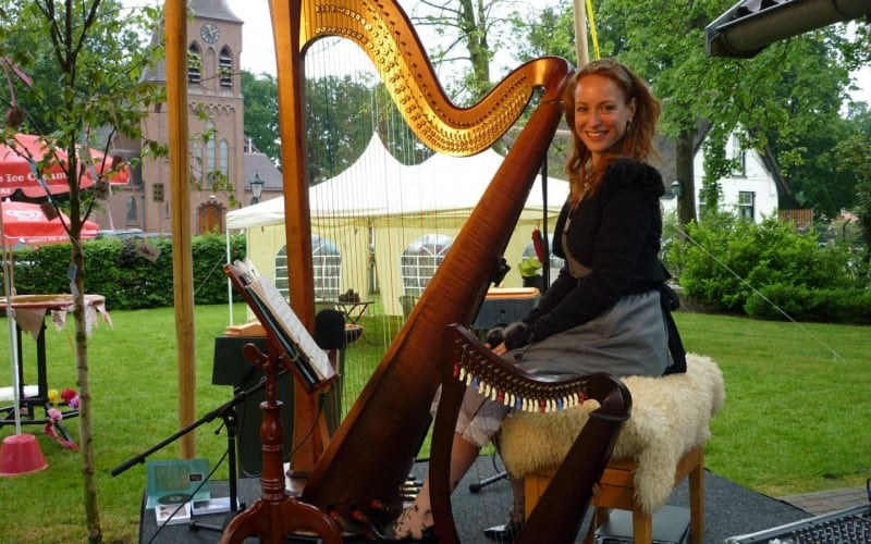 Harpiste Mechteld