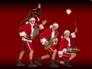 De Nieuwe Kerstmannen! Burolivemuziek.nl