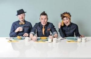 Akoestisch trio MAIS Burolivemuziek
