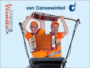 Van Dansewinkel boek je bij Burolivemuziek.nl