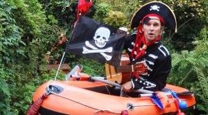 Muzikale Piratenboot boeken bij Burolivemuziek.nl