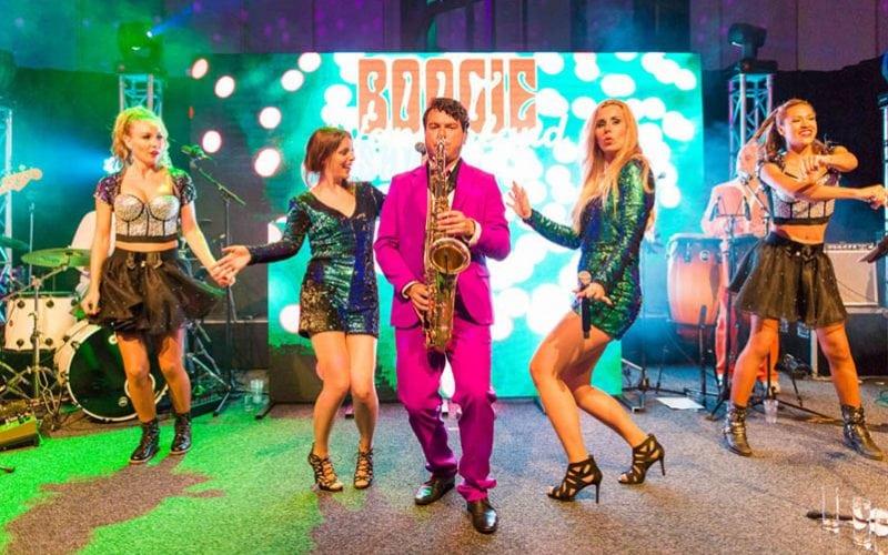 De Boogie Wonderland Discoband