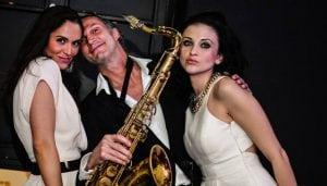Saxofonist Ruud de Vries Burolivemuziek.nl