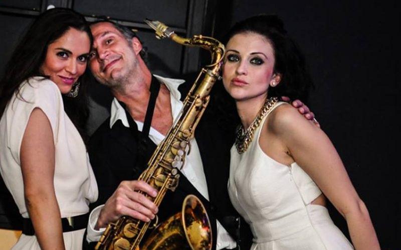 Saxofonist Ruud de Vries