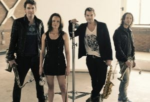 Supercharged - Saxofonisten Burolivemuziek.nl