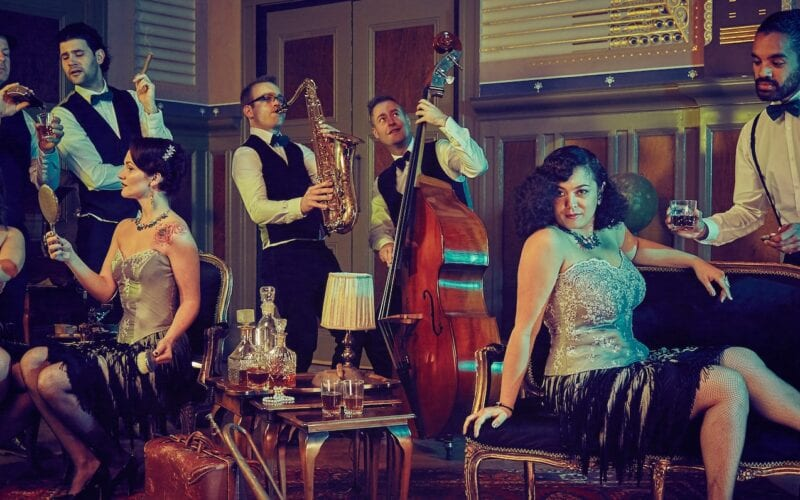 The Great Gatsby vintage jazzband